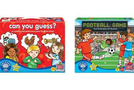 Groupon Goods Global GmbH - Orchard Toys Football or Can You Guess Game - Save 16%