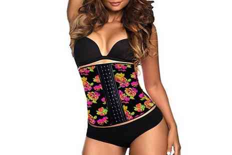 Groupon Goods Global GmbH - Floral Latex Waist Trainer - Save 0%