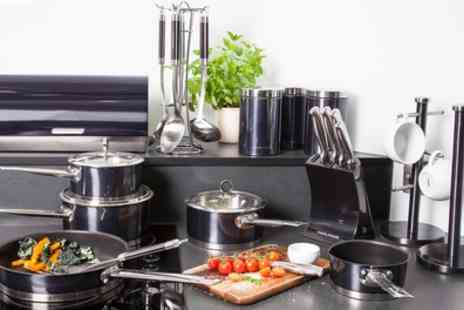 Groupon Goods Global GmbH - Morphy Richards Accents 21 Piece Kitchen Set in a Choice of Colour With Free Delivery - Save 56%