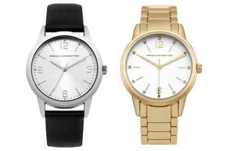 Groupon Goods Global GmbH - French Connection Womens Watches - Save 33%