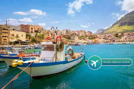ClearSky Holidays - All inclusive, seven night Sicily, Italy break with flights - Save 50%