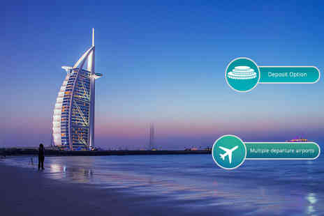 Crystal Travel - Three, five or seven night 4 Star Dubai break with flights and spa access - Save 47%