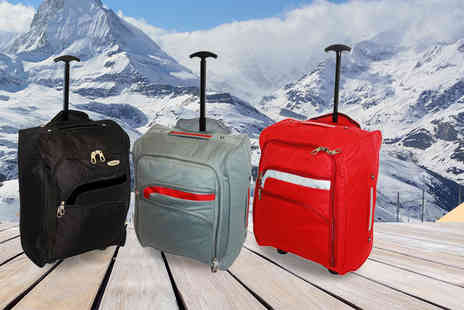 Pearl Info - Cabin approved suitcase choose from six different designs - Save 81%