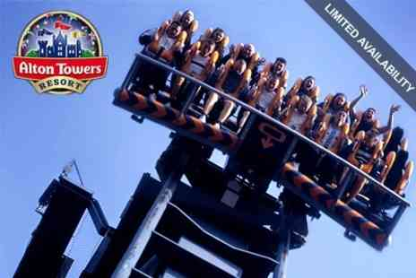 Alton Towers Resort - All Day Ticket to Alton Towers Resort for Adult £20.40 - Save 50%