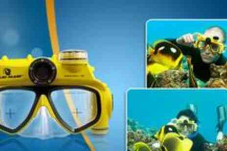 Advanced Mp3 Players - Underwater camera mask from Advanced MP3 Players - Save 66%