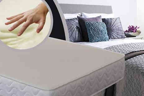 The Sleep People - Cooling Memory Foam Mattress in 3 Sizes - Save 85%