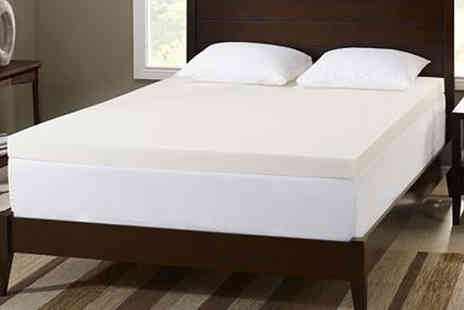The Sleep People - Gravity Free Memory Foam Mattress Topper for 5cm, 7.5cm or 10cm Thick, 6 Sizes - Save 82%