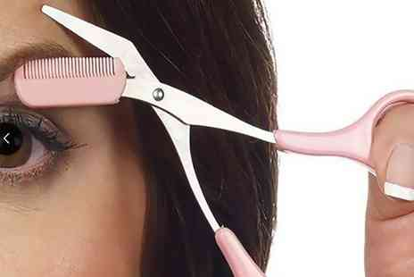 Groupon Goods Global GmbH - Eyebrow Trimming Scissors - Save 80%