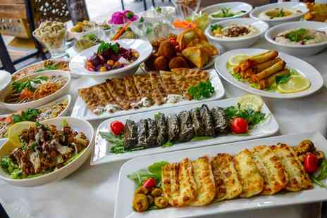 The Four Lanterns - 10 or 16 Greek Meze For Up to Four with Optional Wine or Beer - Save 49%