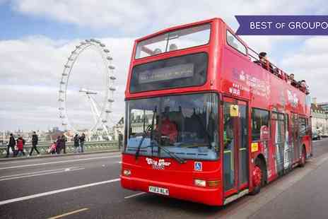 London City Tour - 24 Hour Hop On Hop Off Camden Loop Bus Ticket for Adult or Child - Save 0%