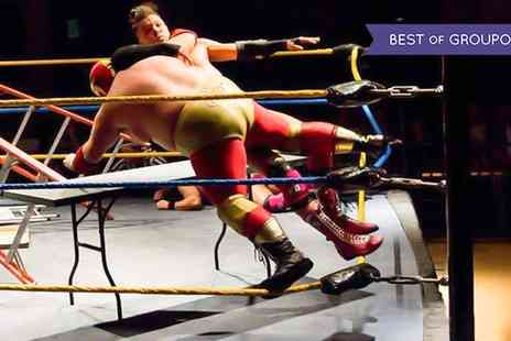 Extreme American Wrestling - Tickets to Extreme American Wrestling on 5 March or 3 December - Save 38%