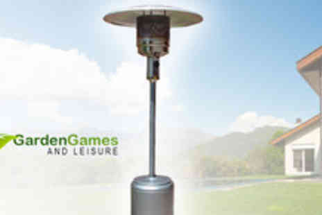 Garden Games & Leisure - 13kw Patio heater with cover - Save 60%