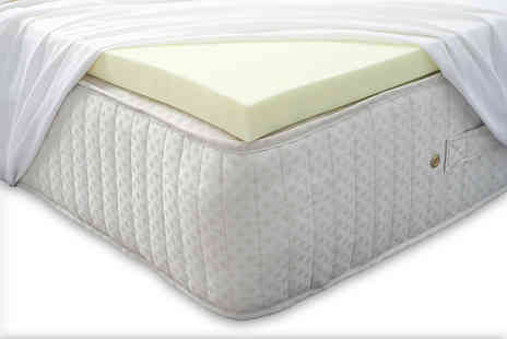 Midnight Dreams - 5cm or 7.5cm thick memory foam mattress topper - Save 81%