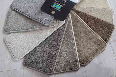 IP Carpets And Flooring - 12m or 16m square carpet fitting or with carpet - Save 50%