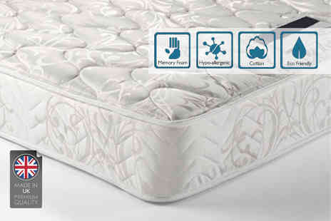 Giomani Designs - Double or king size memory foam spring mattress - Save 87%