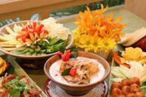 Cafe De Thai - Four course Thai meal for two - Save 76%
