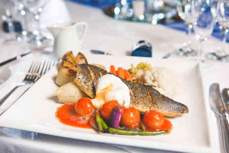 Copthorne Hotel Newcastle - Two course dining for two people with a glass of Prosecco each - Save 39%