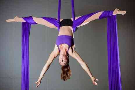 Cloud Aerial Arts - Four one hour aerial fitness classes - Save 70%