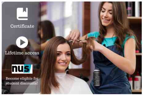 OfCourse - Hairdressing masterclass - Save 87%