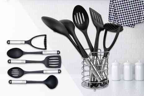 direct2publik - Seven piece nylon kitchen utensil set - Save 69%