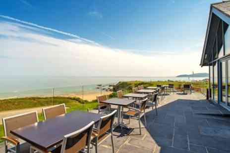 The Tavern on the Bay - Seafront Lunch & Wine for 2 - Save 51%