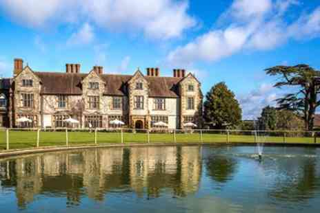 The Billesley Manor Hotel - Overnight stays at a country house hotel just outside Stratford upon AvonManor Break With Meals - Save 0%