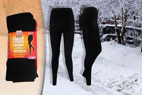 True Face - Ladies thermal footless tights - Save 84%