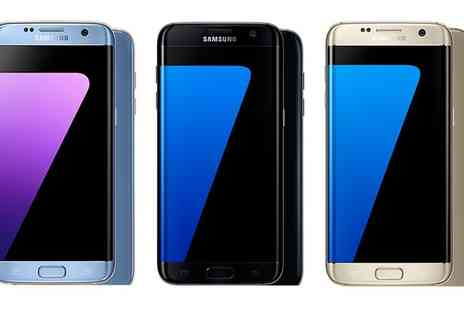 Mobile Phoens Direct - Samsung Galaxy S7 Edge 32GB on 24 Month Three Contract With Free Delivery - Save 90%
