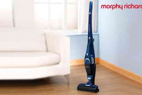 Groupon Goods Global GmbH - Morphy Richards SuperVac Two in One Cordless Vacuum Cleaner 732006 With Free Delivery - Save 63%
