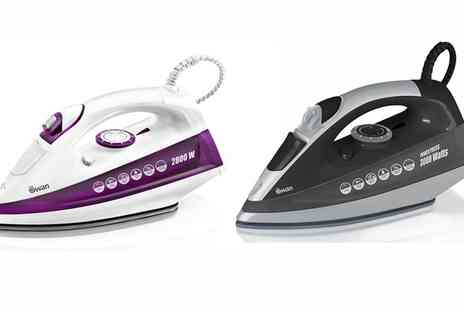 Groupon Goods Global GmbH - 2800W or 3000W Swan PowerPress Iron - Save 67%