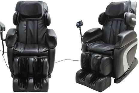 Groupon Goods Global GmbH - Homcom Full Body Massage Chair With Free Delivery - Save 0%