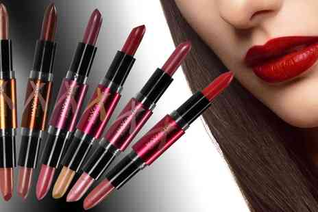 Groupon Goods Global GmbH - Two or Four Max Factor Flipstick Colour Effect Lipsticks - Save 63%