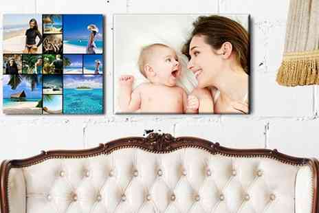 Grange Print - Collage or Single Image Framed Canvas Print - Save 89%