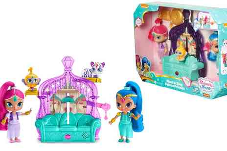 Groupon Goods Global GmbH - Mattel Shimmer and Shine Float With Sing Palace Friends  - Save 0%