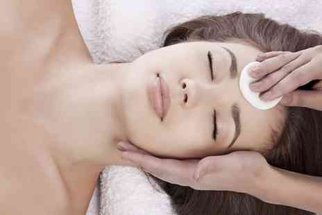 SK Hair, Beauty & Tanning - Facial with Optional Pedicure, Indian Head Massage or Both - Save 66%