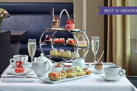 Five Star London Hilton - Chocolate Afternoon Tea with an Optional Glass of Champagne for Two - Save 45%