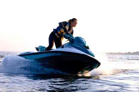 Cornwall Waverunner Safaris - Jet Ski Taster Session for One or Two - Save 19%
