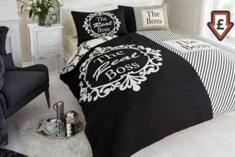 Groupon Goods Global GmbH - The Real Boss Duvet Set - Save 63%