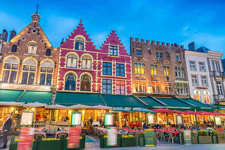 SuperBreak - Three or four night P&O Minicruise from Hull to Bruges including one night in a Bruges hotel - Save 0%