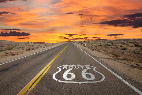 Independent World Choice Holidays - 14 night Route 66 road trip including return flights, accommodation and car hire - Save 0%