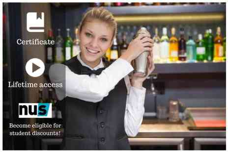OfCourse - Online bartending and mixology masterclass - Save 80%