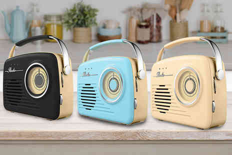 Internet Shop UK - Retro AM Or FM radio - Save 60%