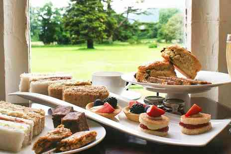 Caer Rhun Hall - Sparkling afternoon tea for two - Save 44%