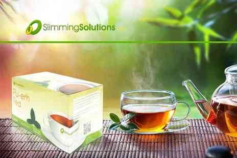Slimming Solutions - 20 Pu erh teabags - Save 53%
