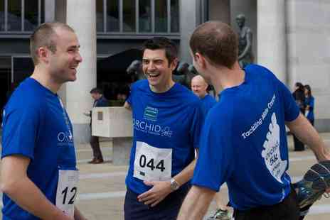 Orchid Male Cancer Charity - Charity river fun run for two with a 5k, 10k or half marathon to go - Save 50%