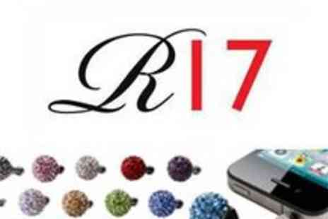 Reignz 17 - Pack of 5 Shamballa iPhone Accessories from R17 - Save 65%