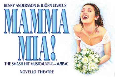 Mamma Mia - Top Priced Theatre Tickets and Dinner for Two - Save 0%