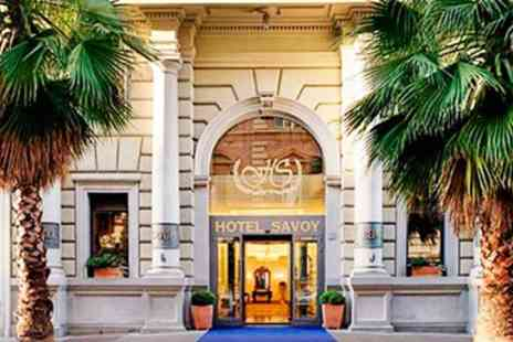 Fleetway Travel - Rome 3 Night Savoy Break with Flights & Breakfast - Save 0%