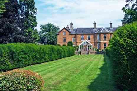 Sedgebrook Hall - Northamptonshire Mansion Stay with Dinner & Wine - Save 0%