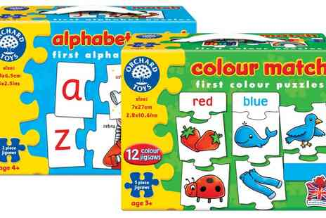 Groupon Goods Global GmbH - Orchard Toys Alphabet or Colour Match Puzzle or Both - Save 13%